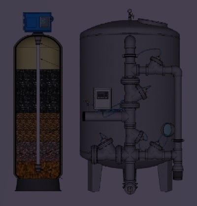 Aquaplus Filtros Lecho Profundo